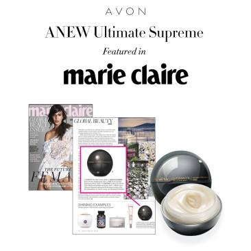 Marie Claire Skin Care Mention